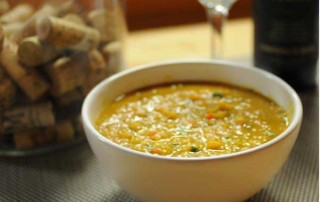 Red Lentil Soup by Roya Gharavi