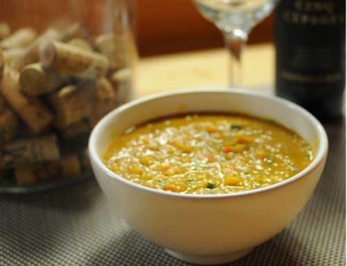 Red Lentil Soup by Roya Gharavi
