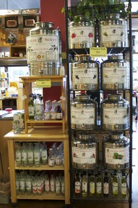 Oils at Gourmet Pantry