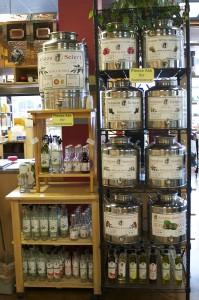 Oils at Gourmet Pantry