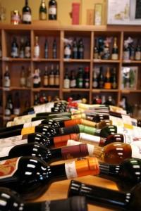 Wine at Gourmet pantry