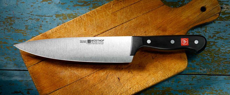 Wustof knives at the Gourmet Pantry