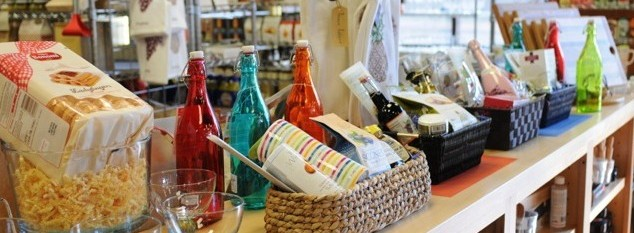 Baskets at Gourmet Pantry