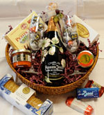 Champagne Gift Basket - Gourmet Pantry