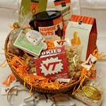 Hokie Tailgate Gift Basket at Gourmet Pantry Online