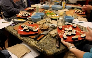Sushi Making at Gourmet Pantry