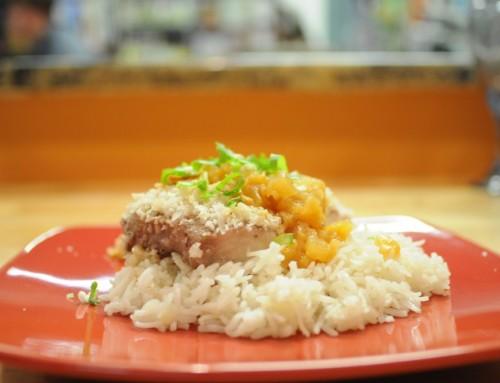 Macadamia Crusted Mahi