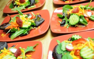 Salad at Gourmet Pantry Cooking School