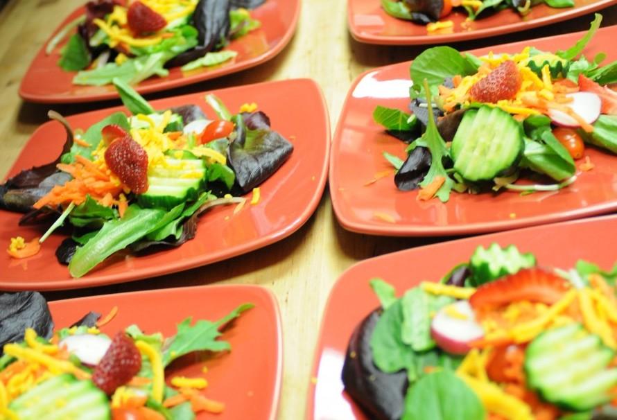 Salad at Gourmet Pantry Cooking School