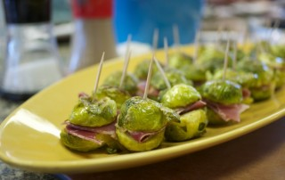 Roya's Brussels Sprout Sliders