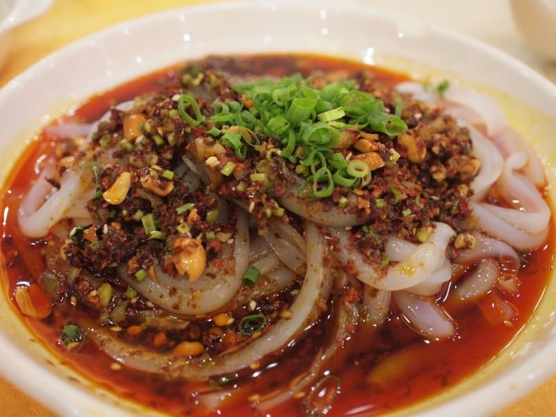 Cold Sichuan noodles